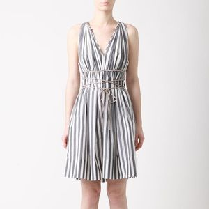 3.1 Phillip Lim Striped Rope Dress
